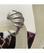 Vintage Vendome Square Adjustable Shank Silver Ring PAT 2.961.855 (Size ... - $37.95