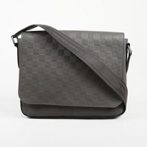 """Louis Vuitton Graphite Damier Infini Coated Canvas """"District PM"""" Messenger Bag - $1,605.00"""