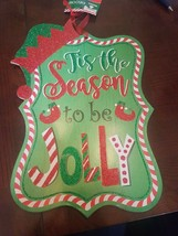 Tis The Season To Be Jolly Sign - $14.58