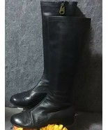 Marc by Marc Jacobs Black Leather Riding Boots Size US 8 (EU 38.5) (UK 6) - $118.80