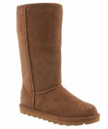 Womens Bearpaw Elle Tall Winter Boots - Hickory Suede [1963W] - $67.99