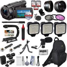 Sony FDR-AX53 4K HD Handycam Camcorder Video Camera Action Kit + 2Yr Pro... - $1,249.70