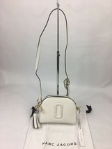 NWT Marc Jacobs Shutter Camera Leather Crossbody Bag ~ Porcelain - $250.00