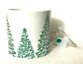 YANKEE CANDLE Scenterpiece Easy Melt Cup Warmer FROSTED TREE Holiday Spa... - $31.34