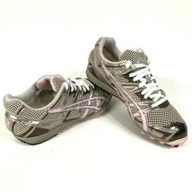 ASICS GQ80A Womens 6.5 M Brown Gray Track Training Running Shoes Sneakers - $38.06 CAD