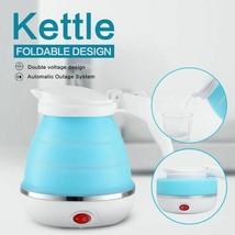 Foldable Electric Kettle 0.75L EU Plug Silicone Portable Travel Camping ... - €35,49 EUR