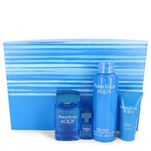 Perry Ellis Aqua Gift Set - 3.4 Oz Eau De Toilette Spray + .25 Oz Mini Edt Sp... - $42.80