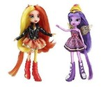 NEW My Little Pony Equestria Girls Sunset Shimmer and Twilight Sparkle Figures
