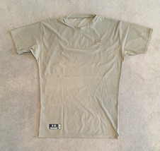 Under Armour Tactical Tan/Sand Compression Heat Gear Men's T-Shirt - Siz... - $11.83