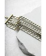 Divine Dream Sequence Gold Chain Bracelet Lulus Exclusive - $14.50