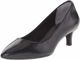 Womens Rockport Total Motion Kalila Pump - Black Leather, Size 8.5 W [V7... - $119.99
