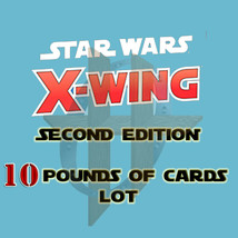 Star Wars X-Wing 2.0 Lot of Upgrade Cards 10 Pounds - $7.95