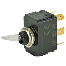 BEP SPDT Lighted Toggle Switch - ON/OFF/ON - $24.41