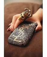 Bling Personalized iPhone 8 Case Gray Crystal Handmade Custom iPhone 8 X... - £17.90 GBP+