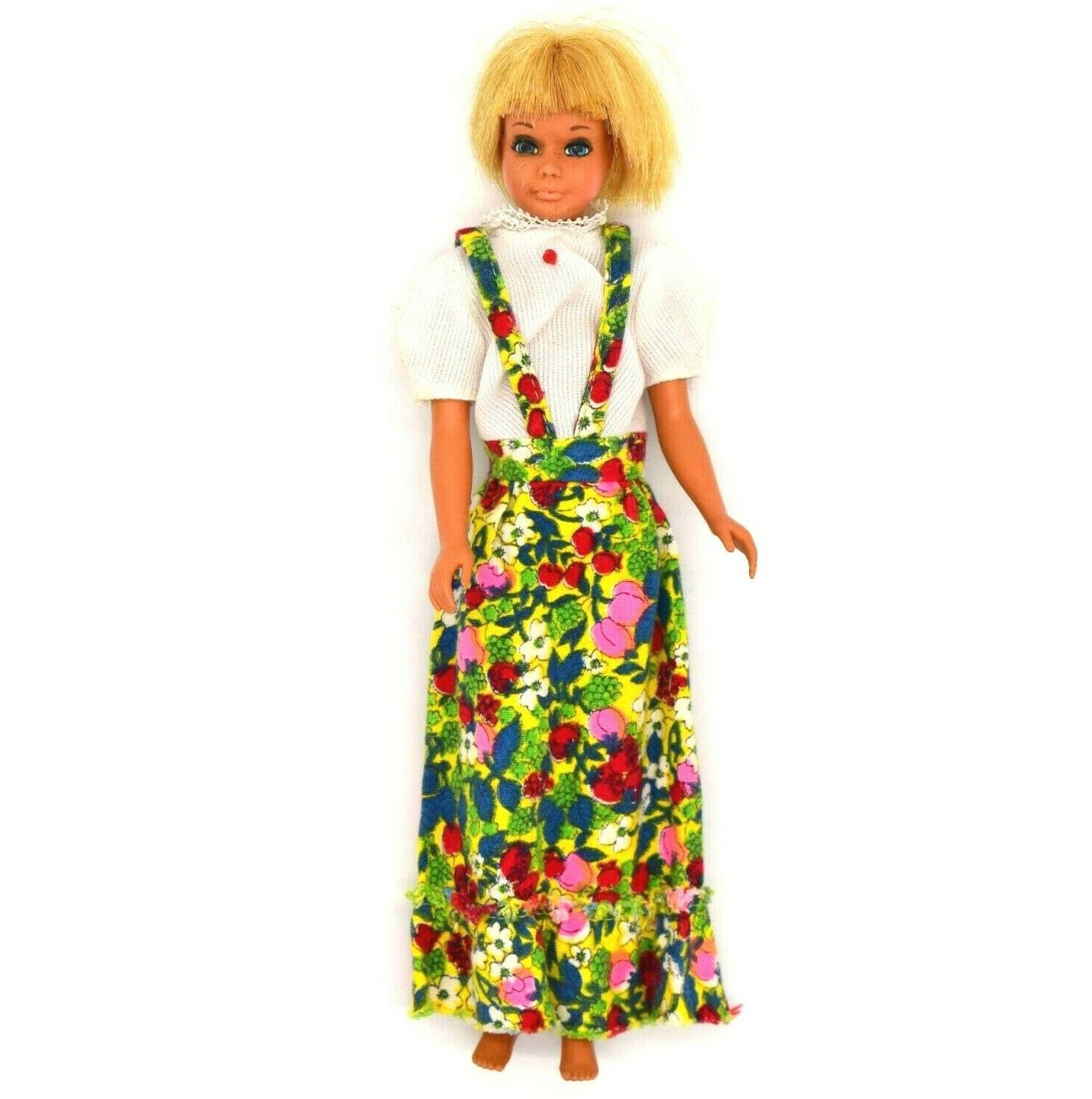 Primary image for Vintage Mattel 1967 Barbie Doll Short Blond Hair Blue Eyes 9 inches Collectibles
