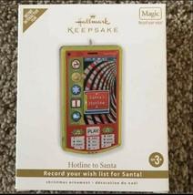 Hallmark Keepsake Hotline To Santa Magic Ornament New - $13.85