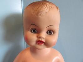"""Vintage  1950's 15"""" Vinyl Baby Doll Drinks, Wets, Squeaks JD - $29.70"""