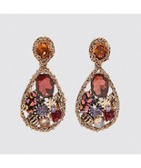 Best lady Fashion ZA Resin Drop Earring For Women Wedding Jewelry Boho E... - $18.40