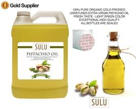 7 LBS  PURE 100% ORGANIC COLD PRESSED VIRGIN PISTACHIO OIL - $48.61