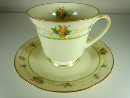 Noritake Normandy Cup and Saucer - $5.35