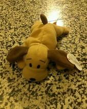 Plush Vintage Ty Mc Donald's Teenie B EAN Ie Baby Bones The Dog - $2.48