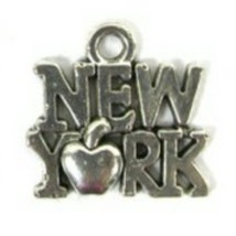 New York Apple Necklace Earring Bracelet Charms - $24.95