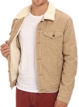 Levi's Men's Classic Corduroy Sherpa Trucker Button Up Jacket 723360004 image 1