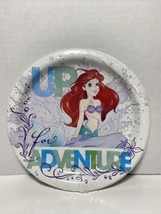 "Disney Ariel Little Mermaid 6 7/8"" Dessert Plates - Party Plates New! 8 Plates - $9.26"