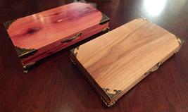 4 - Pen Desk Box Crafted from Walnut or Cedar - $94.90