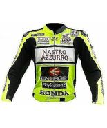 YAMAHA NASTRO REAL COWHIDE MOTORCYCLE  RACING LEATHER JACKET ALL SIZES - $149.00