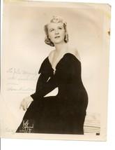 Autograph Photo Anna Kaskas  Opera Star American mezzo-soprano and contr... - $15.00