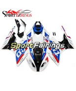 Injection ABS Fairings For BMW S1000RR 15-16 S1000 RR Cowlings White Blu... - $446.57