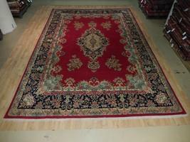 Sarouk Florwers Open Field Oriental Handmade Rug 10' x 15' Persian Kerma... - $1,632.11