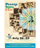 Jackson 5 - Mac Davis - Buck Owens - 1973 - Pocono State Fair - Concert ... - $11.99