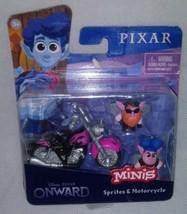 Disney Pixar Onward Sprites & Motorcycle Mini Figure - $13.00