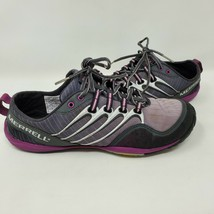 MERRELL LITHE GLOVE DARK SHADOW LIGHTWEIGHT BAREFOOT MINIMALIST SHOES SI... - $29.70