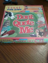 """Dont Quote Me"""" Board Game - TIME for Kids Edition FACTORY SEALED - $18.69"""