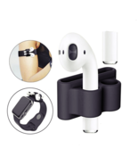 AIRPODS HOLDER SILICON APPLE AIR POD PROTECTIVE CASE SHOCKPROOF ANTI LOS... - $6.99