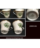 Lenox Holiday Tea Cups Set of Two - $29.99