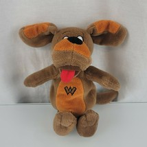 """Wiggles Wags the Dog 8"""" Stuffed Beanbag Plush, Spin Master 2003, Brown P... - $19.78"""