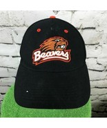 Team Nike Oregon State Beavers Mens O/S Hat Black Orange 100% Wool Ball ... - $14.84