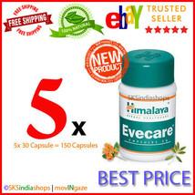 5x Himalaya Herbal Evecare 30 Capsules Pack of 5x30 - $19.31