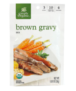 Keto: Thanksgiving gravy Simply Organic low carb Brown Gravy Mix 2 ct (5... - $14.36