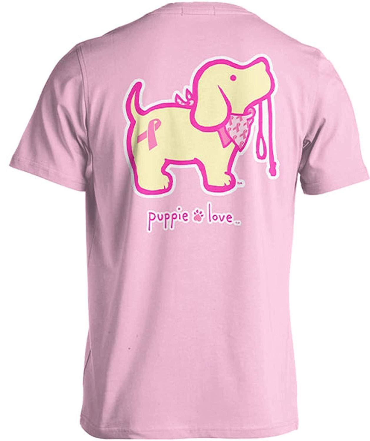 Puppie Love Rescue Dog Adult Unisex Short Sleeve Graphic T-Shirt, BCA Pup