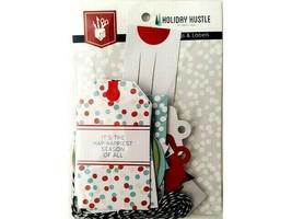 Fancy Pants Designs Holiday Hustle Tags & Labels Ephemera #2858 image 1