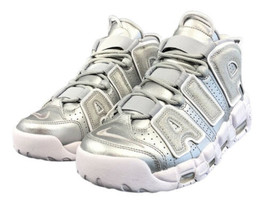 Nike AirMax More Uptempo HiTop NBA Metallic Silver Womens 8.5 NEW and FA... - $147.00