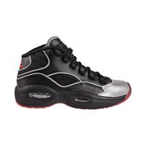 Reebok Question Mid A5 Jadakiss Big Kids Shoes Black-Silver Met-Red BD4332 - $79.95