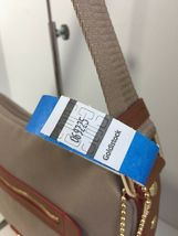 New Coach Crossbody Bag Fume Nylon F37337 Stone Brown B2A image 12