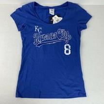 Kansas City Royals Player T-shirt Mike Moustakas Women's Campus Lifestyle MLB M - $14.85
