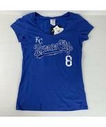 Kansas City Royals Player T-shirt Mike Moustakas Women's Campus Lifestyl... - $14.85